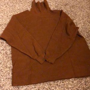 Free People Tunic Turtleneck Sweater